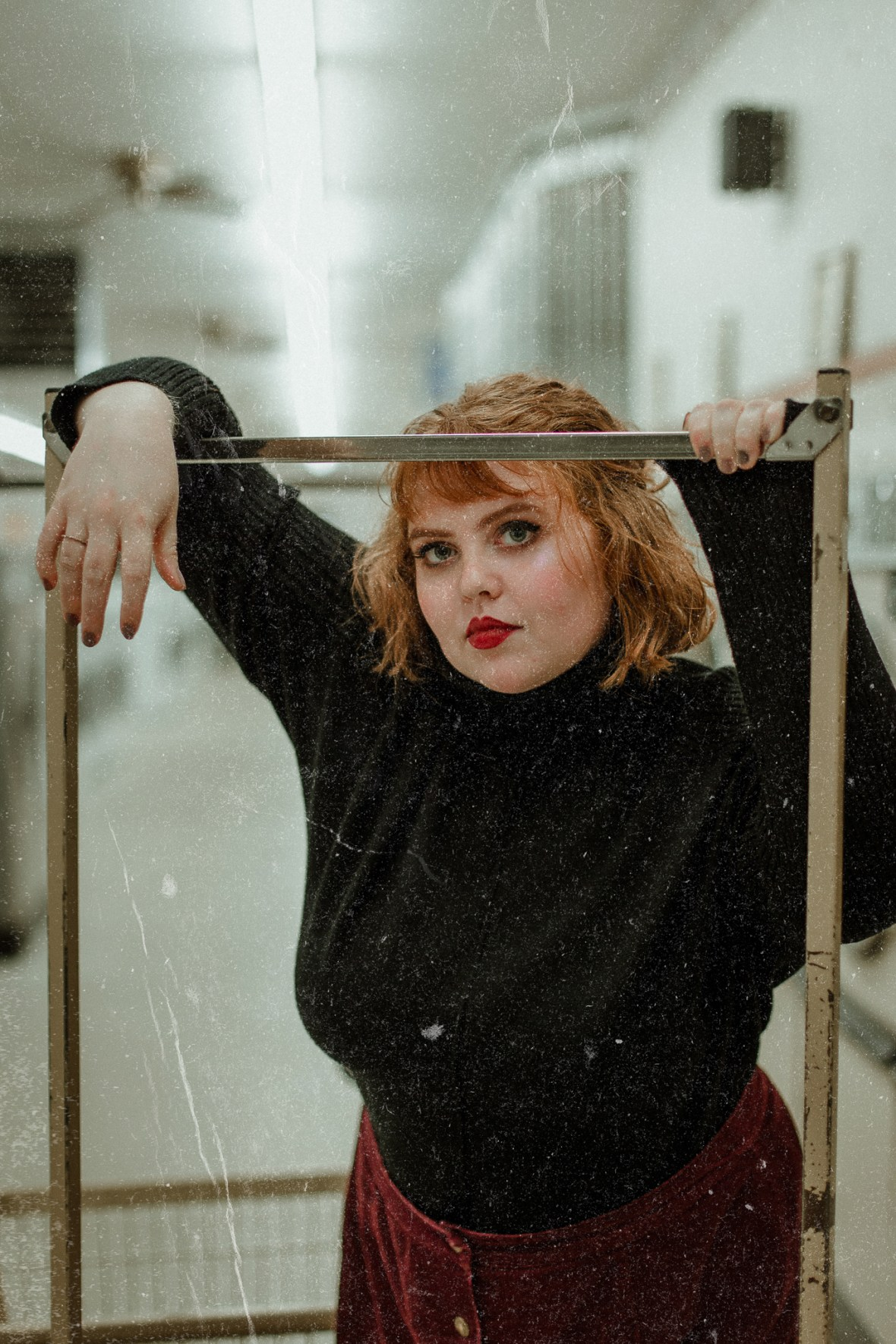 Laundromat Portrait Photography Louisville Kentucky