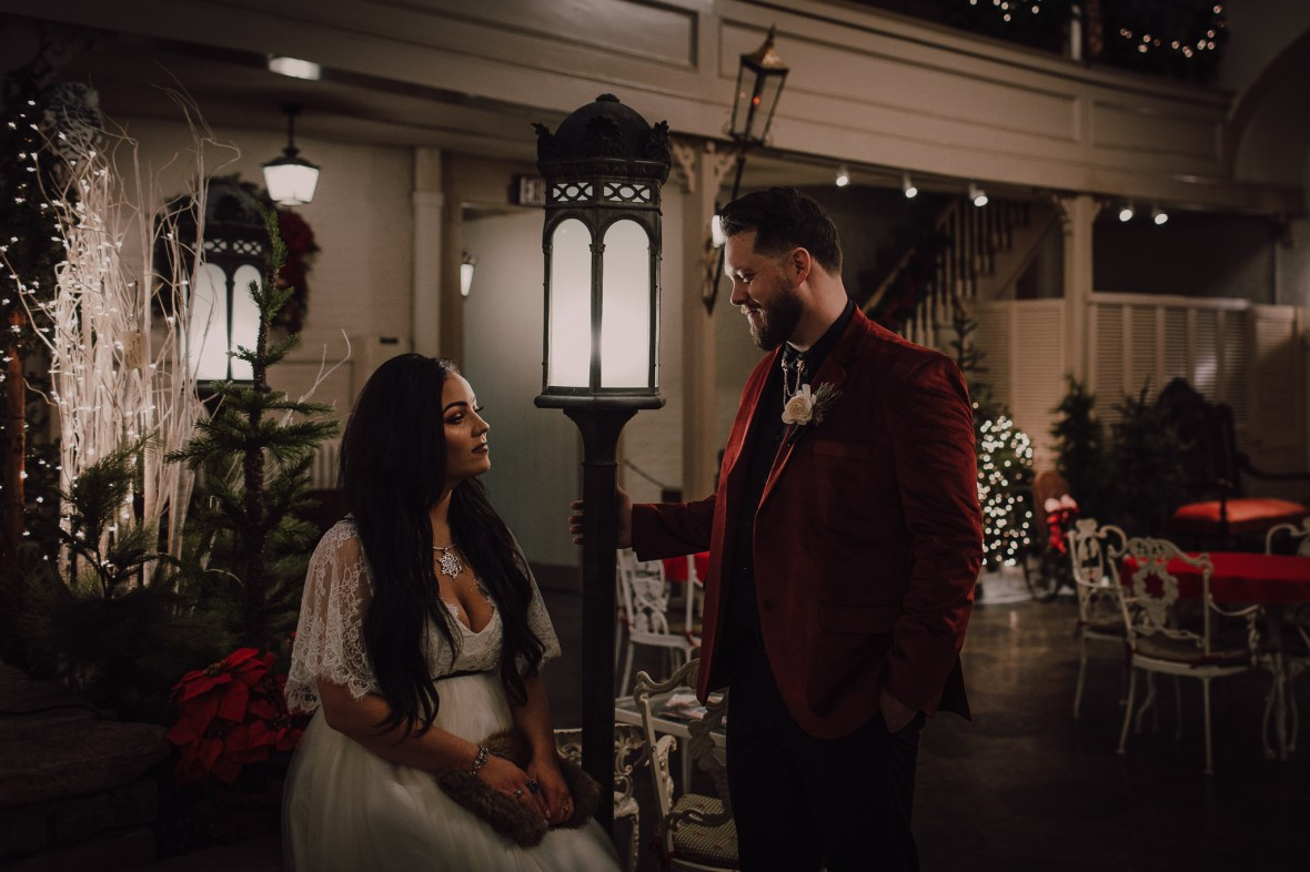 Louisville Kentucky Christmas Wedding