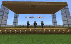 MakeCode for Minecraft Monster Showtime Vindicator