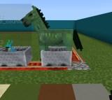spawn green horse