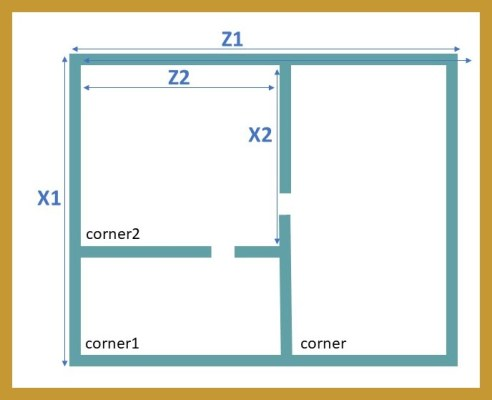 Recursive Division Maze 2 border