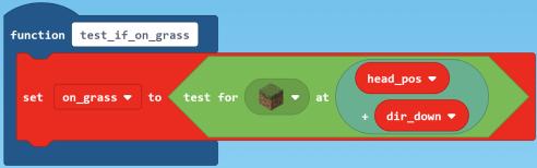 test if grass code