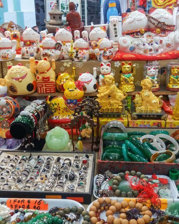 Tienda de souvenir tipicos de China en Chinatown, Singapore