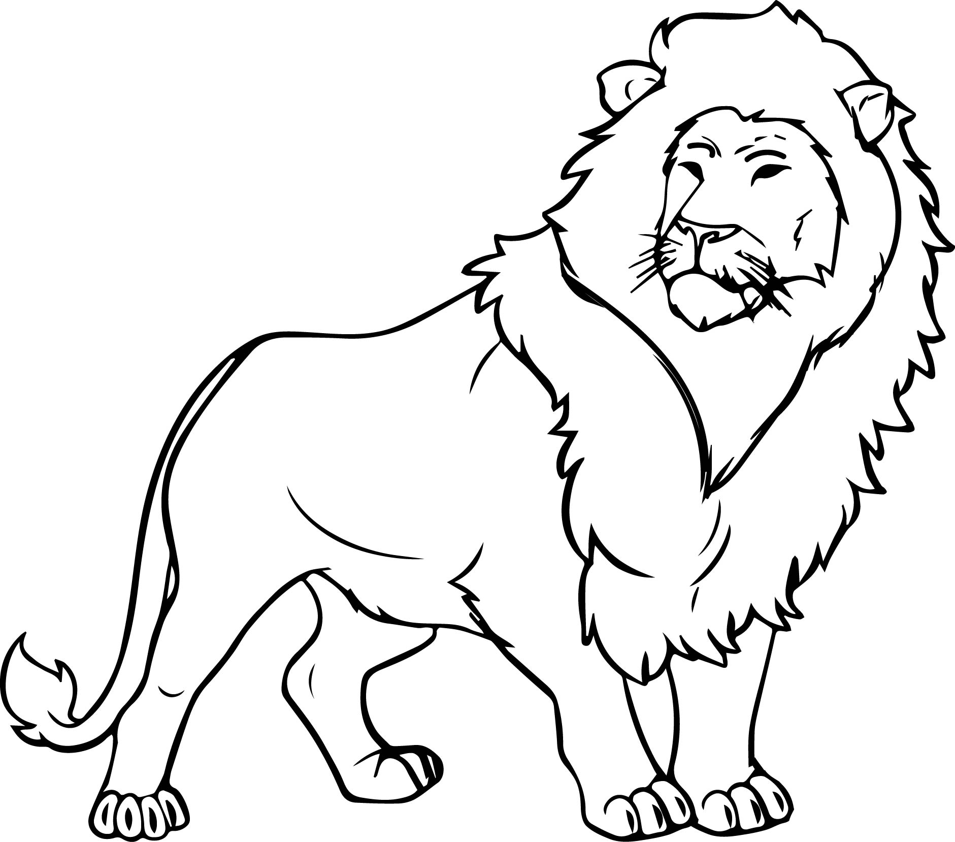 coloring page lion coloring page coloring pages for kids
