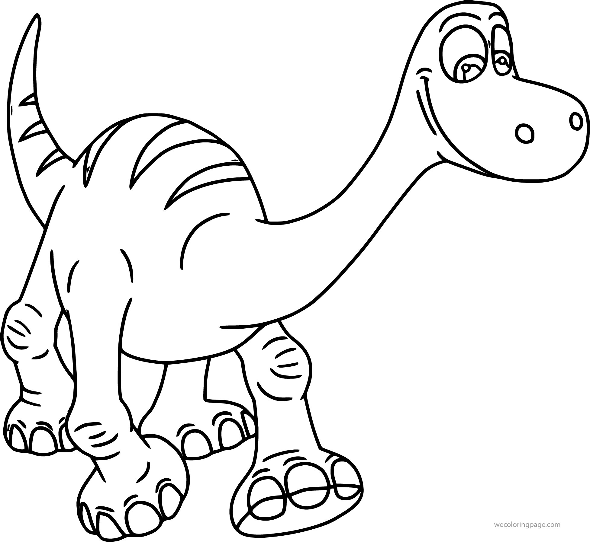 The Good Dinosaur Disney Coloring Pages