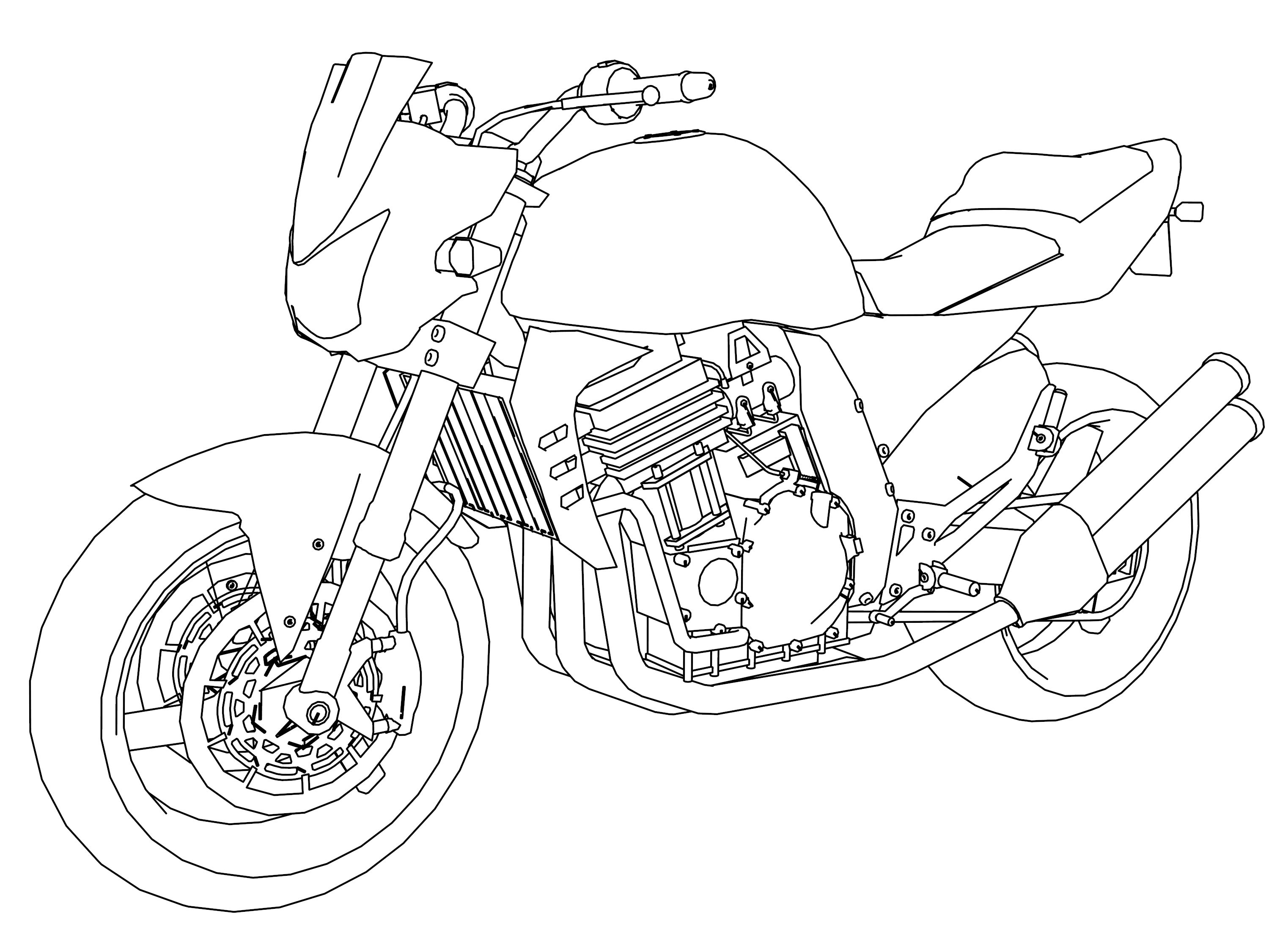 Trends For Captain America Motorcycle Coloring Pages