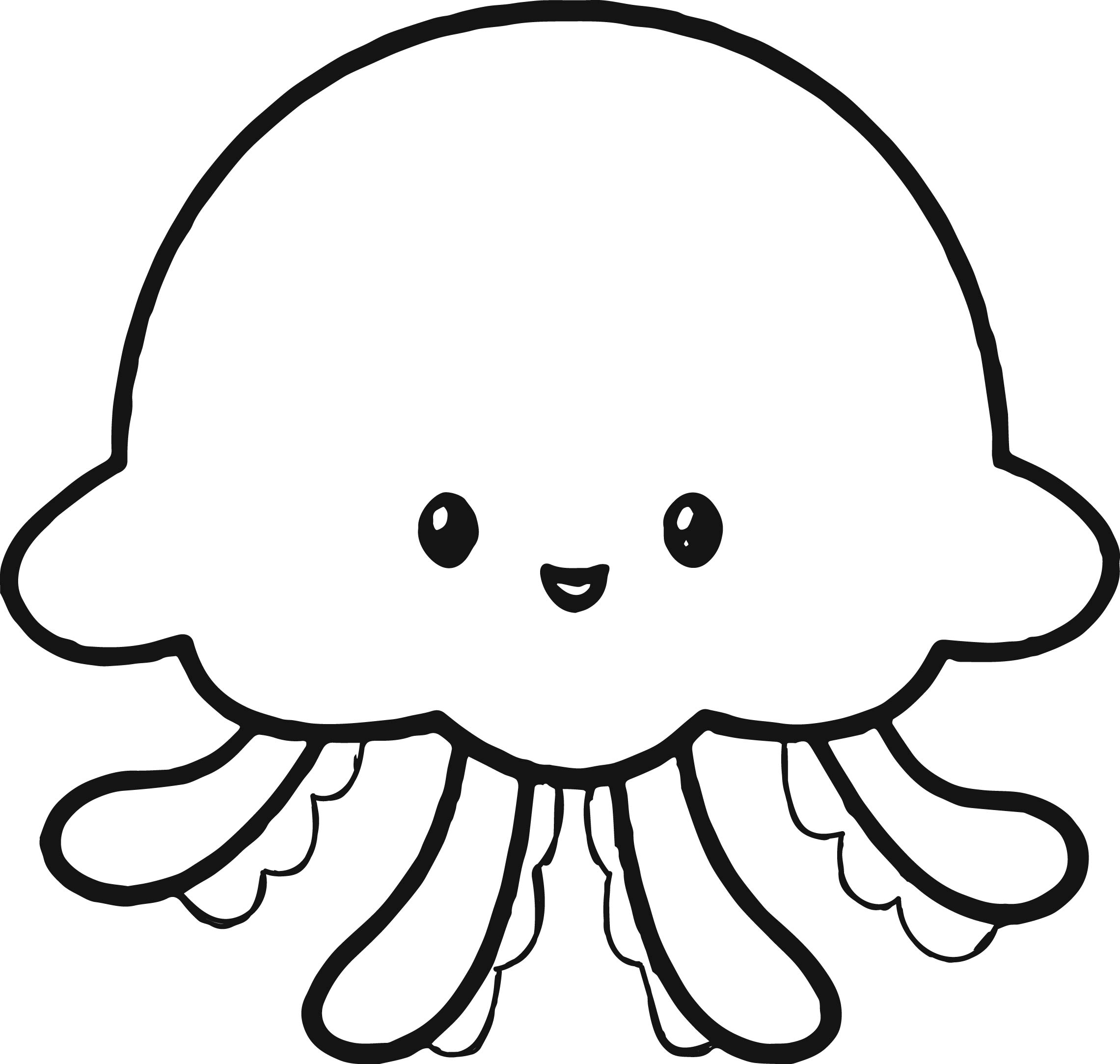 cute jellyfish coloring pages jellyfish coloring pages jellyfish