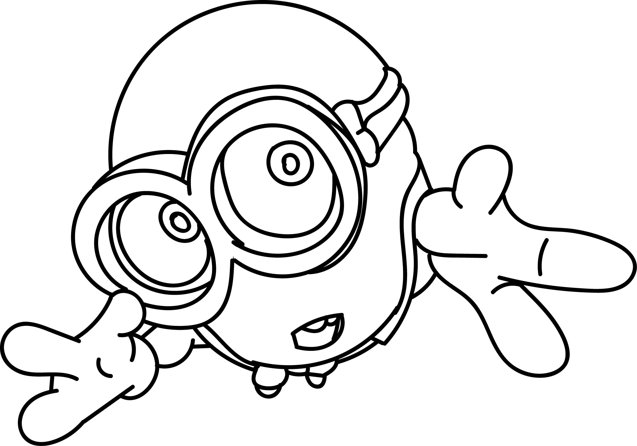 Cute Minion Coloring Pages Sketch Coloring Page