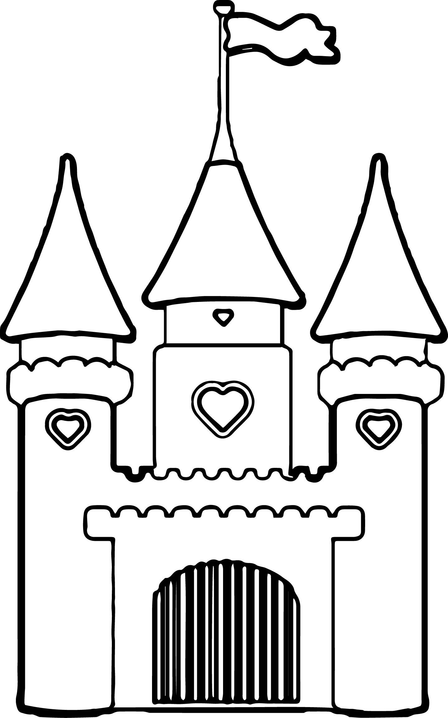 Disney Castle Princess Cinderella Girls Vinyl Wall