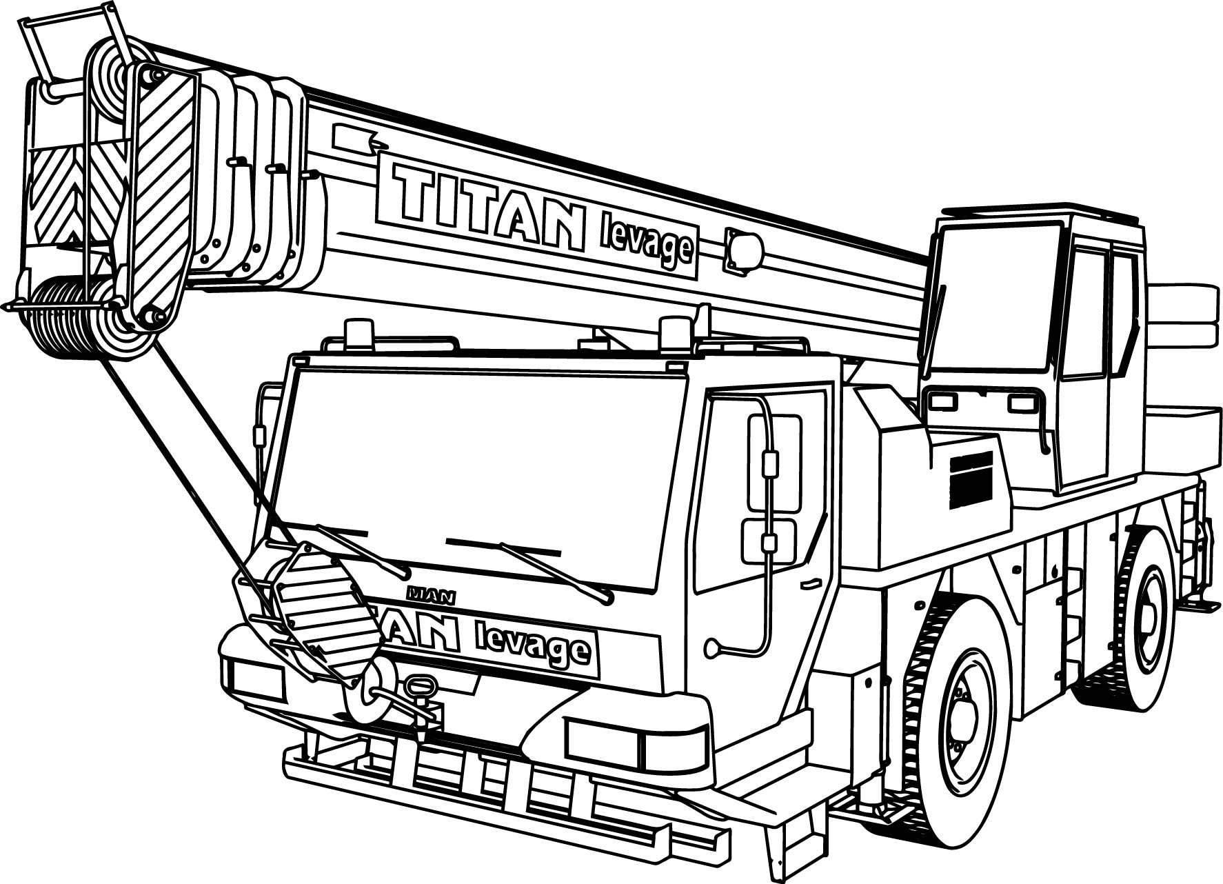 Truck Pulling Coloring Pages Coloring Pages