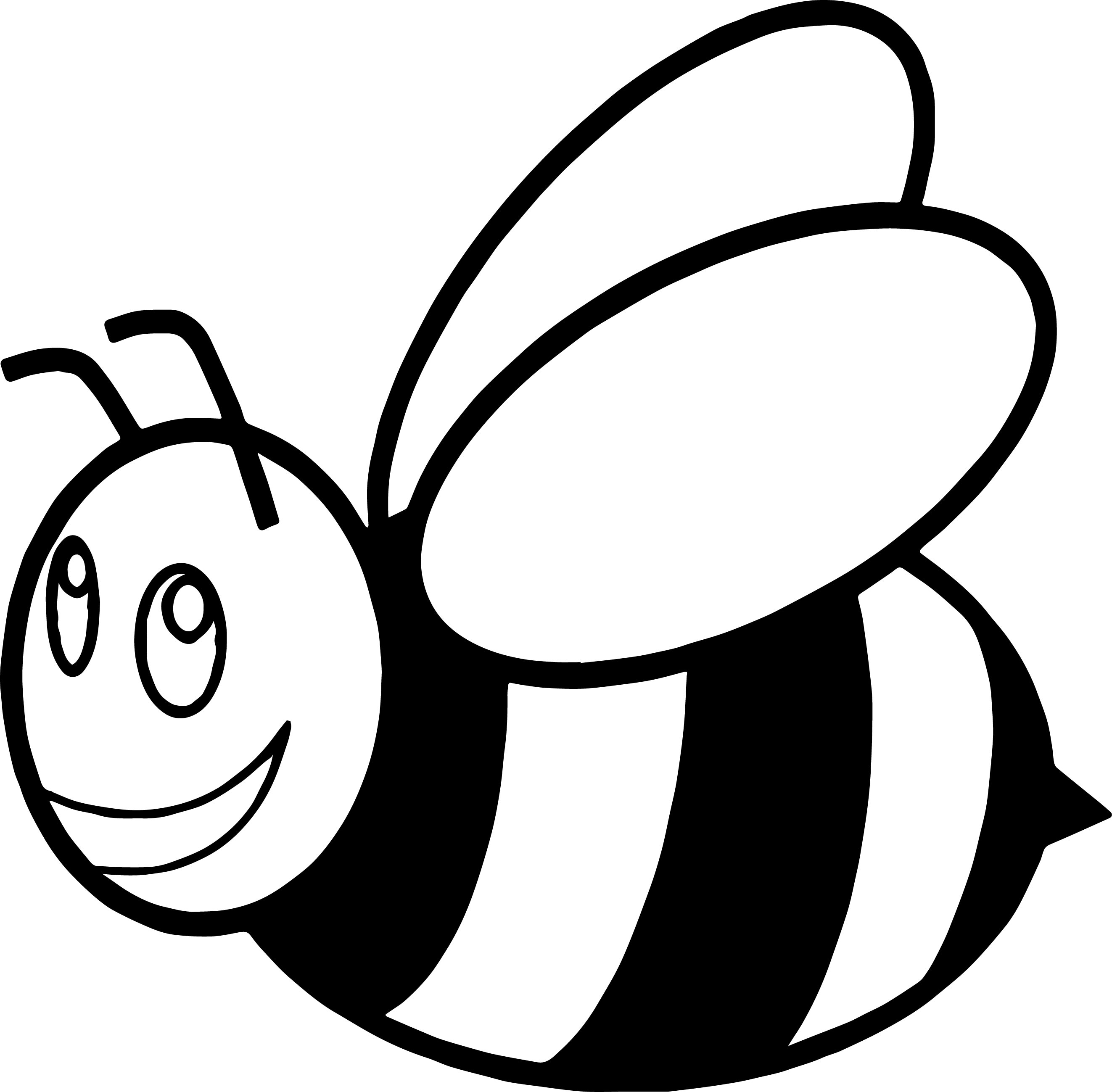 Bees Coloring Pages