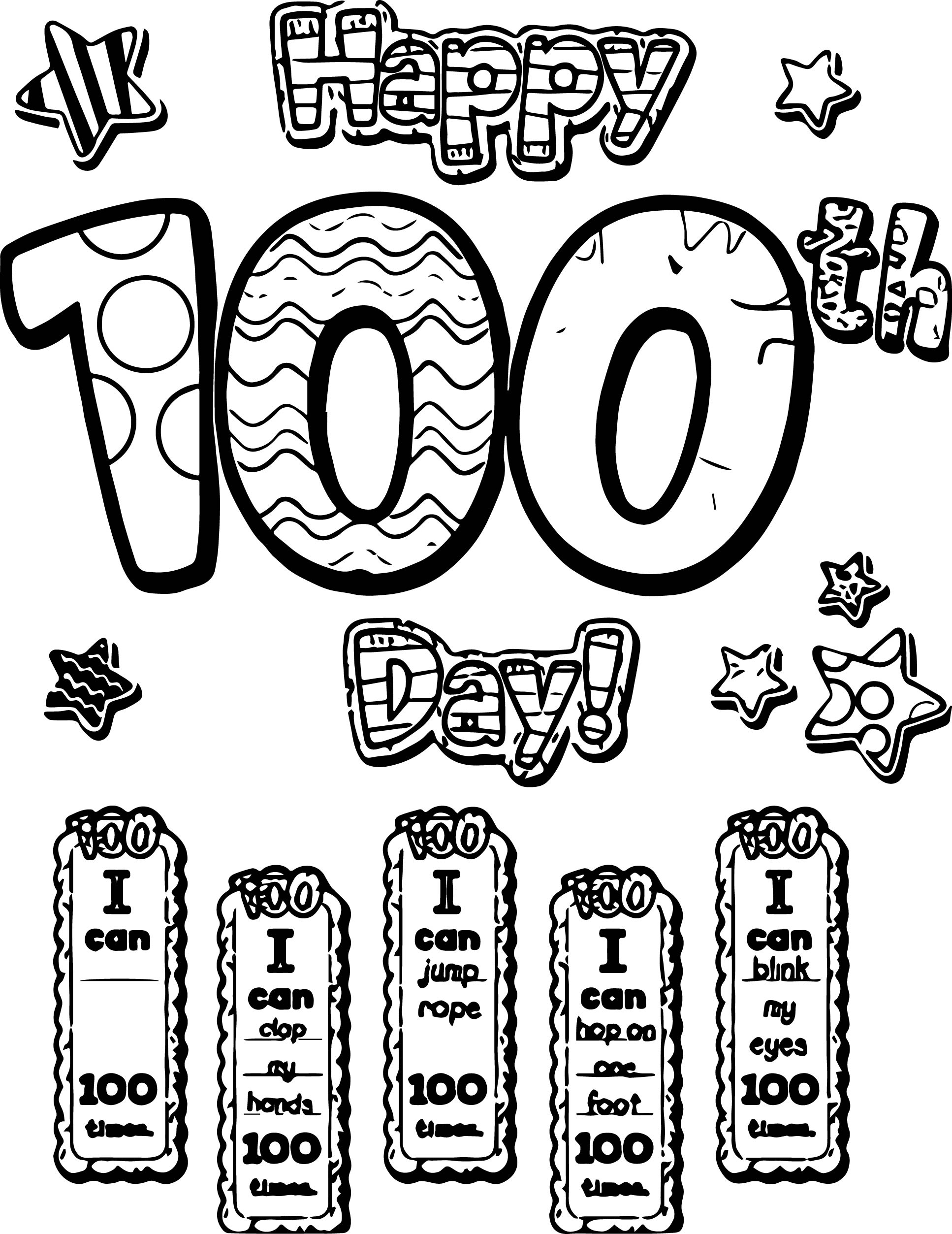 Pin 100th Day Of School Image Search Results On Coloring