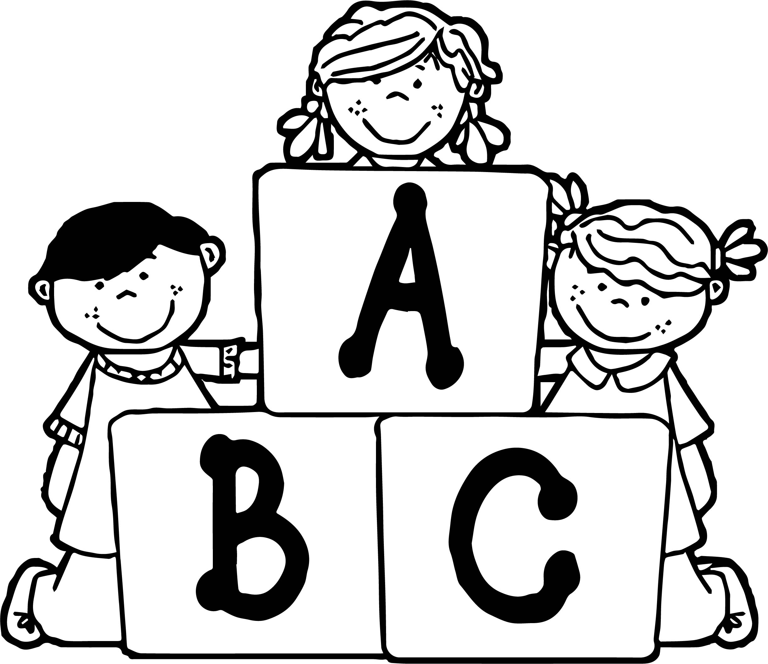 Abcs Of Pictures Coloring Pages