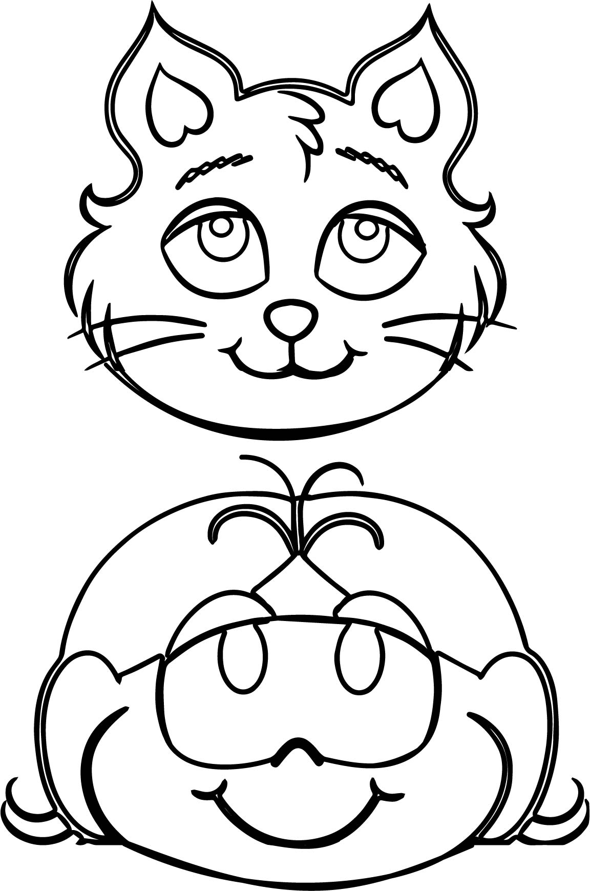 Cheshire Cat Face Coloring Pages Coloring Pages