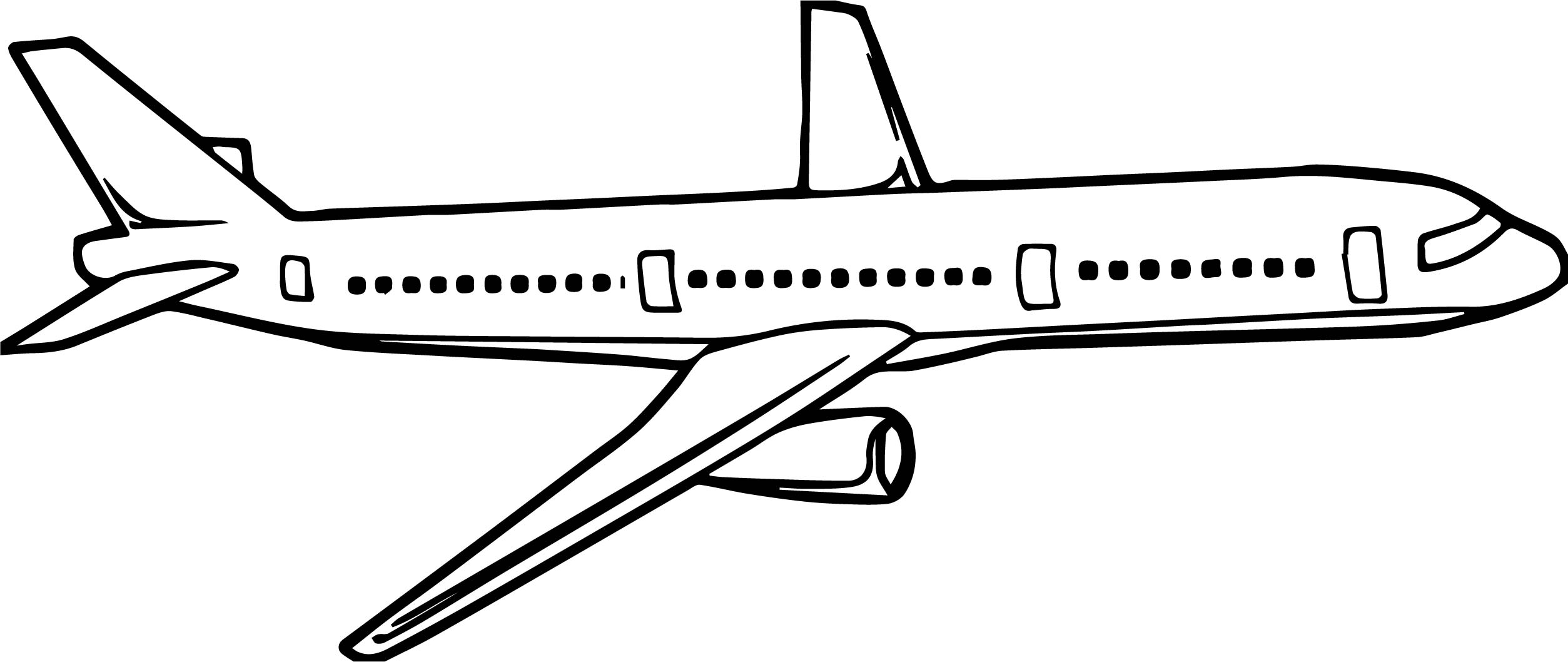 Airplane Good Coloring Page
