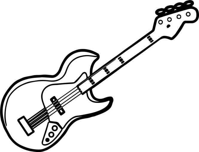 guitar coloring page. Perfect Just Guitar Coloring Page Wecoloringpage guitar coloring page  for kids