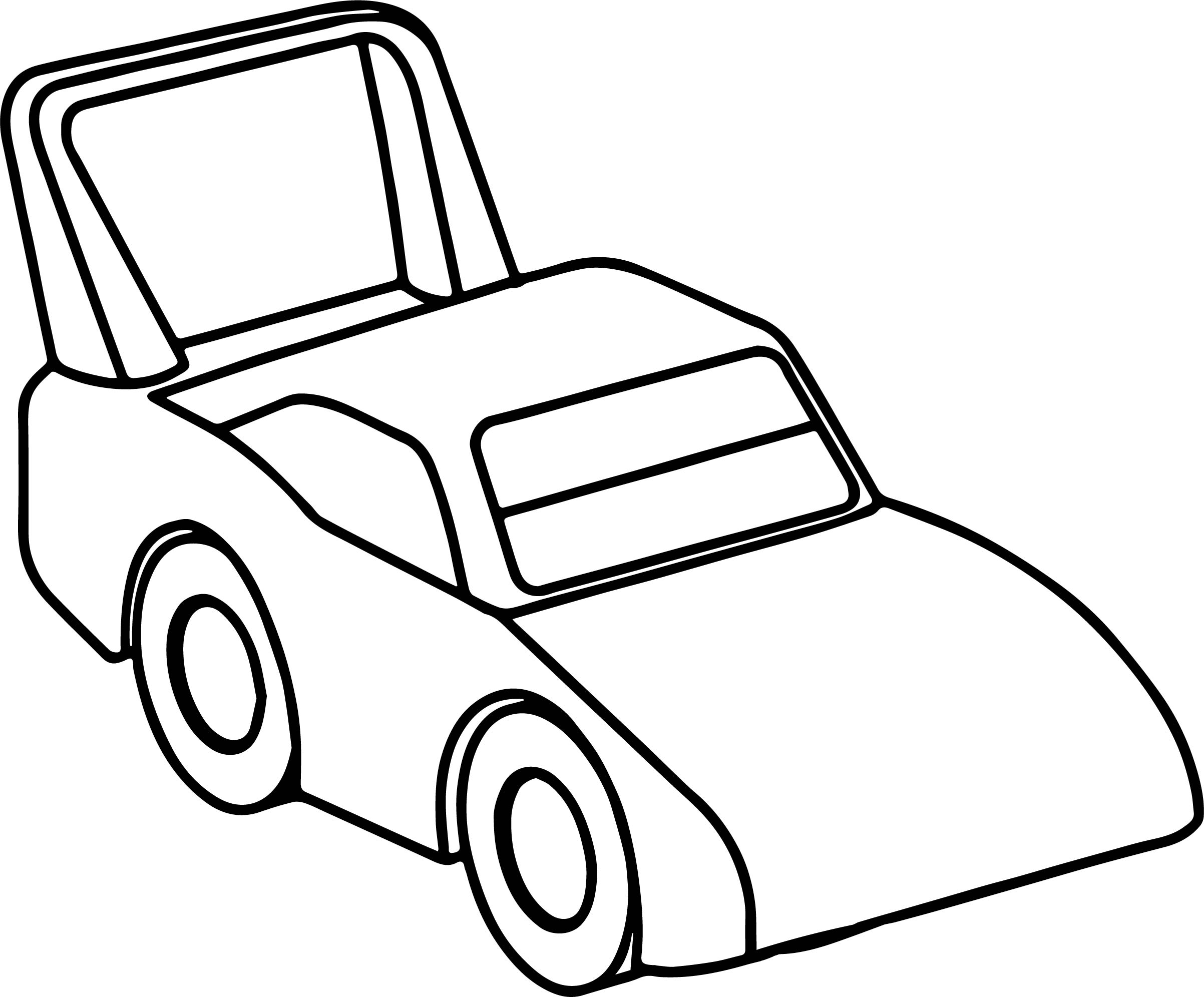 Race Toy Car Coloring Page Wecoloringpage