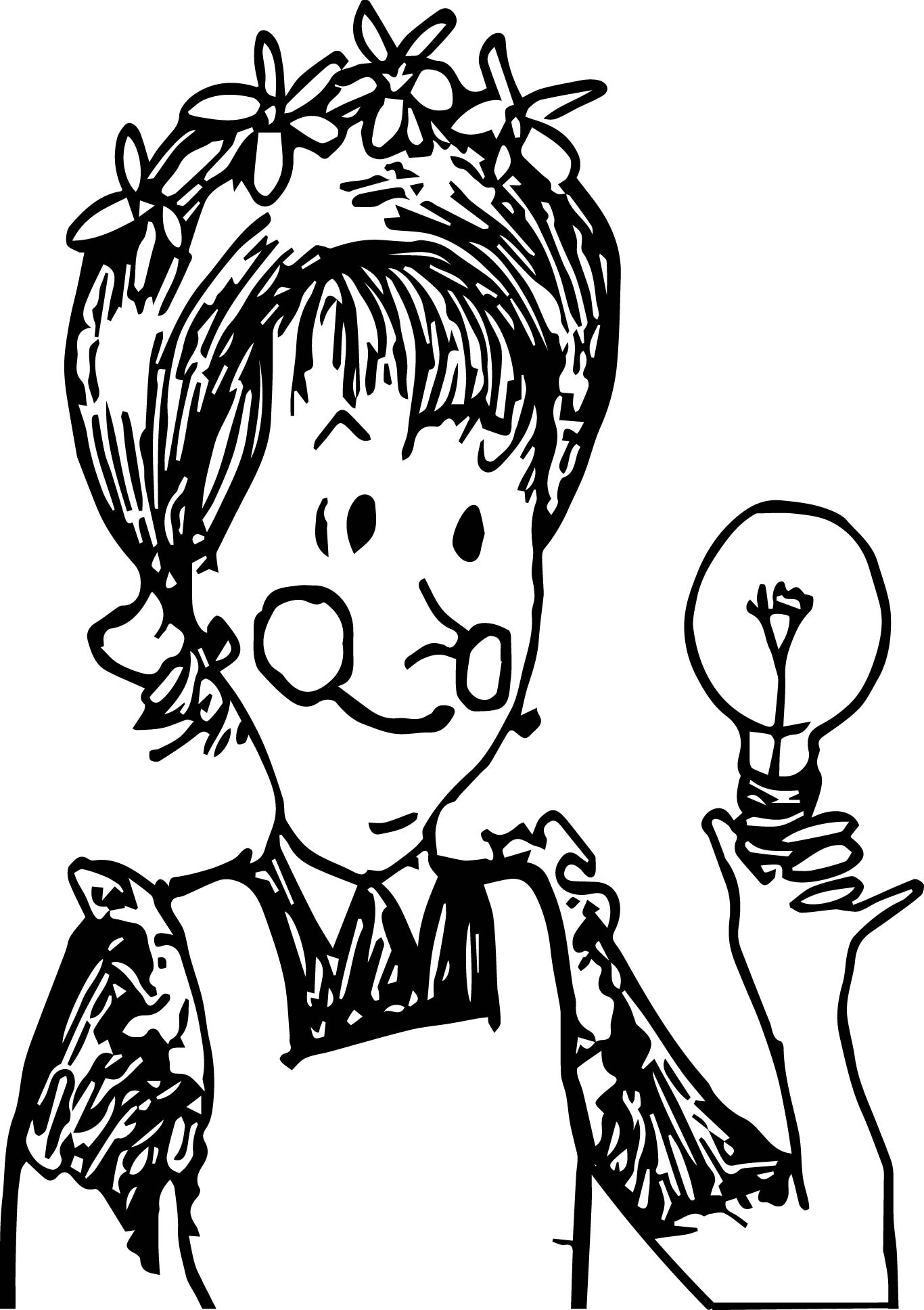 Amelia Bedelia Coloring Sheets Coloring Pages