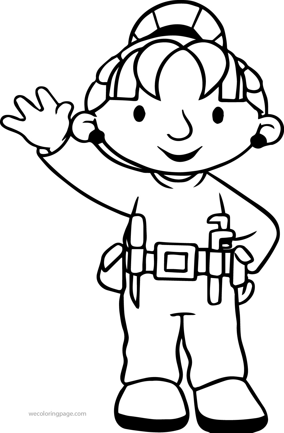 Wendy Bob The Builder Coloring Pages
