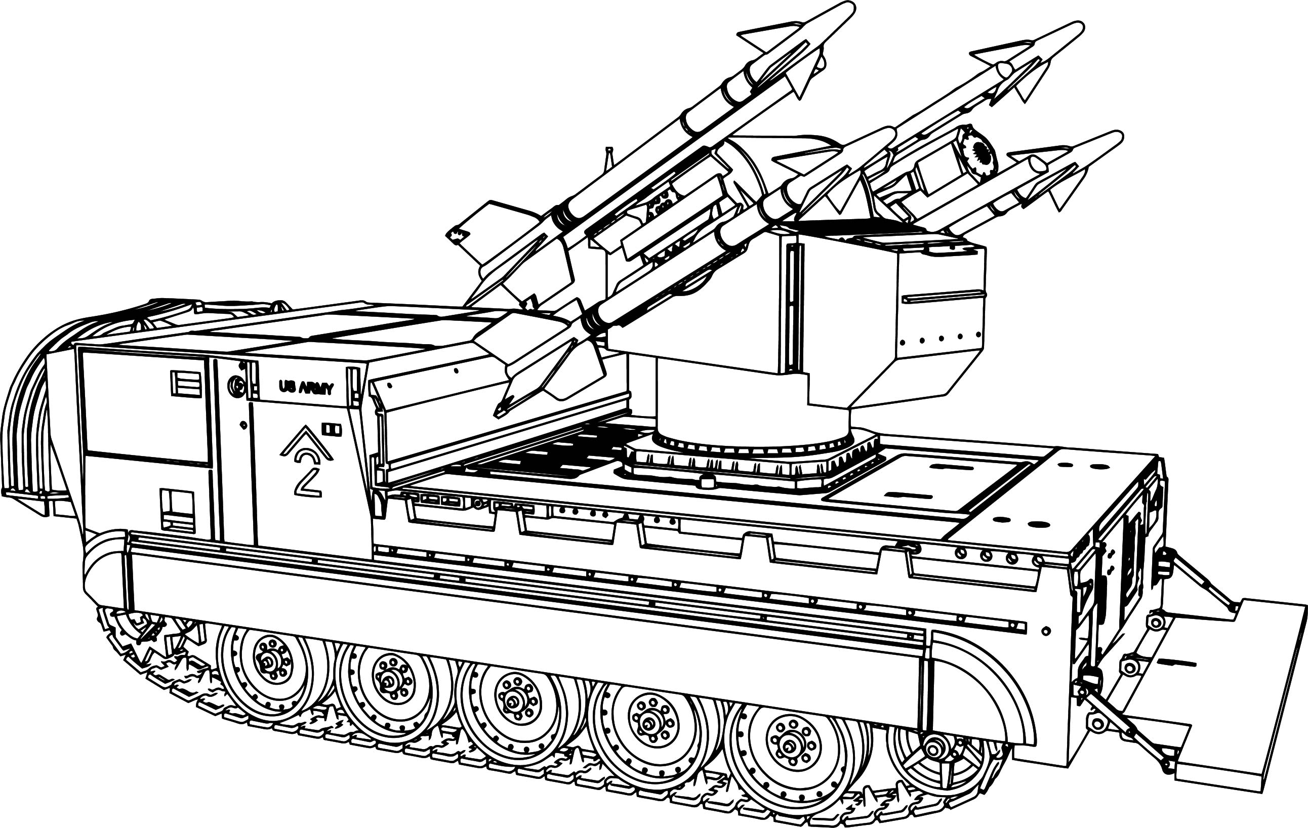 Tank Coloring Pages
