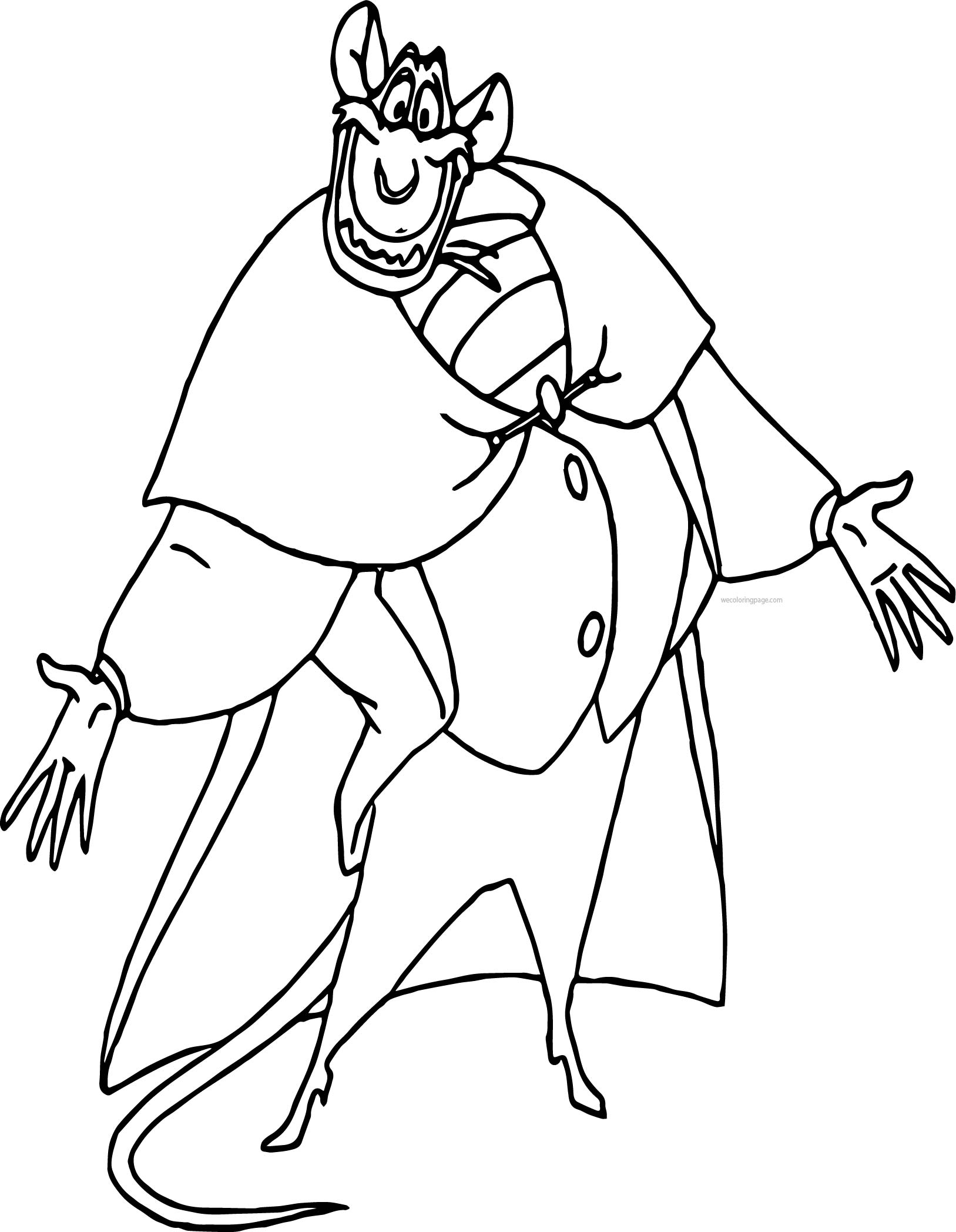 Master Detective Coloring Pages
