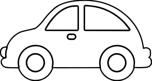 coloring page car # 25