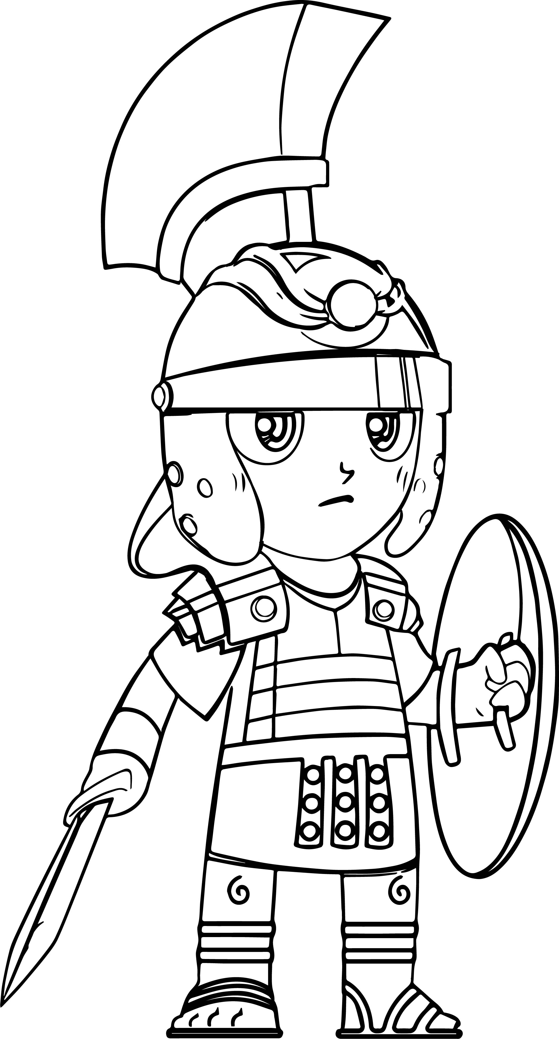 Roman Solr Coloring Pages