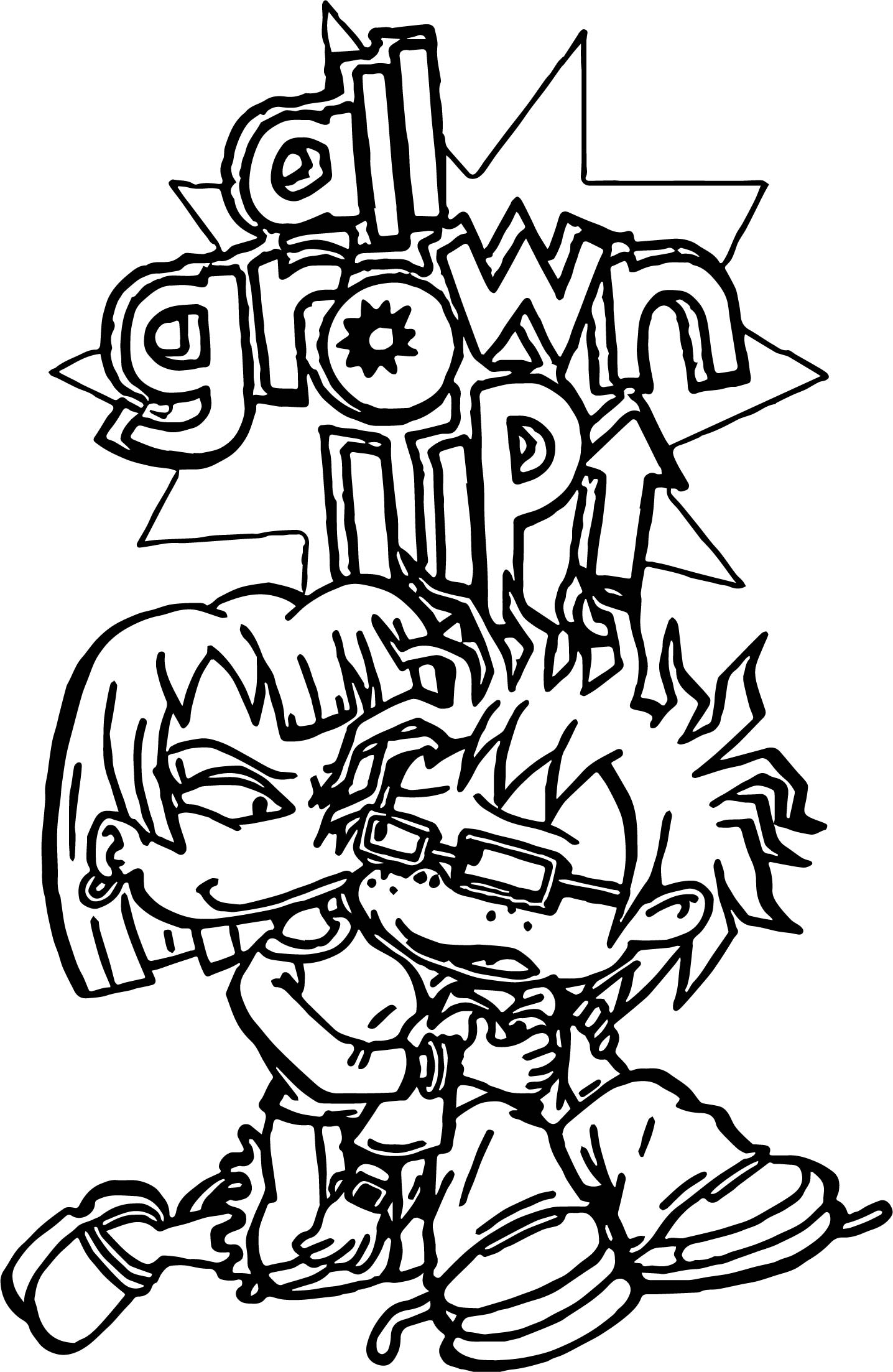 Grown Up Coloring Pages