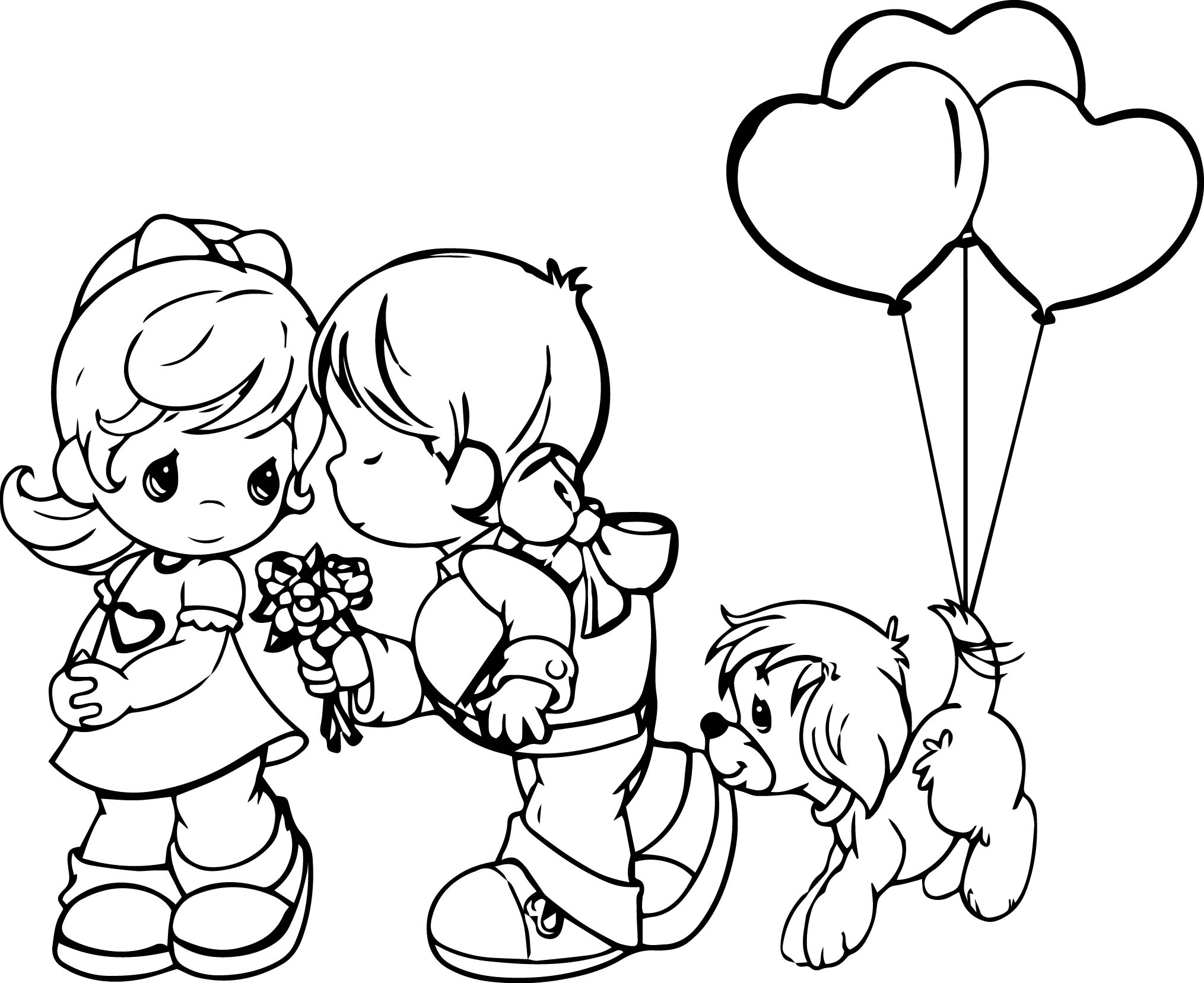 Precious Moments Love Is Coloring Page Wecoloringpage