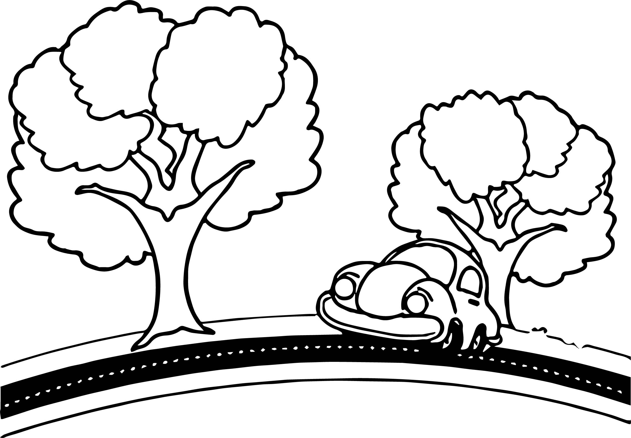 Old Man Driving Car Cartoon