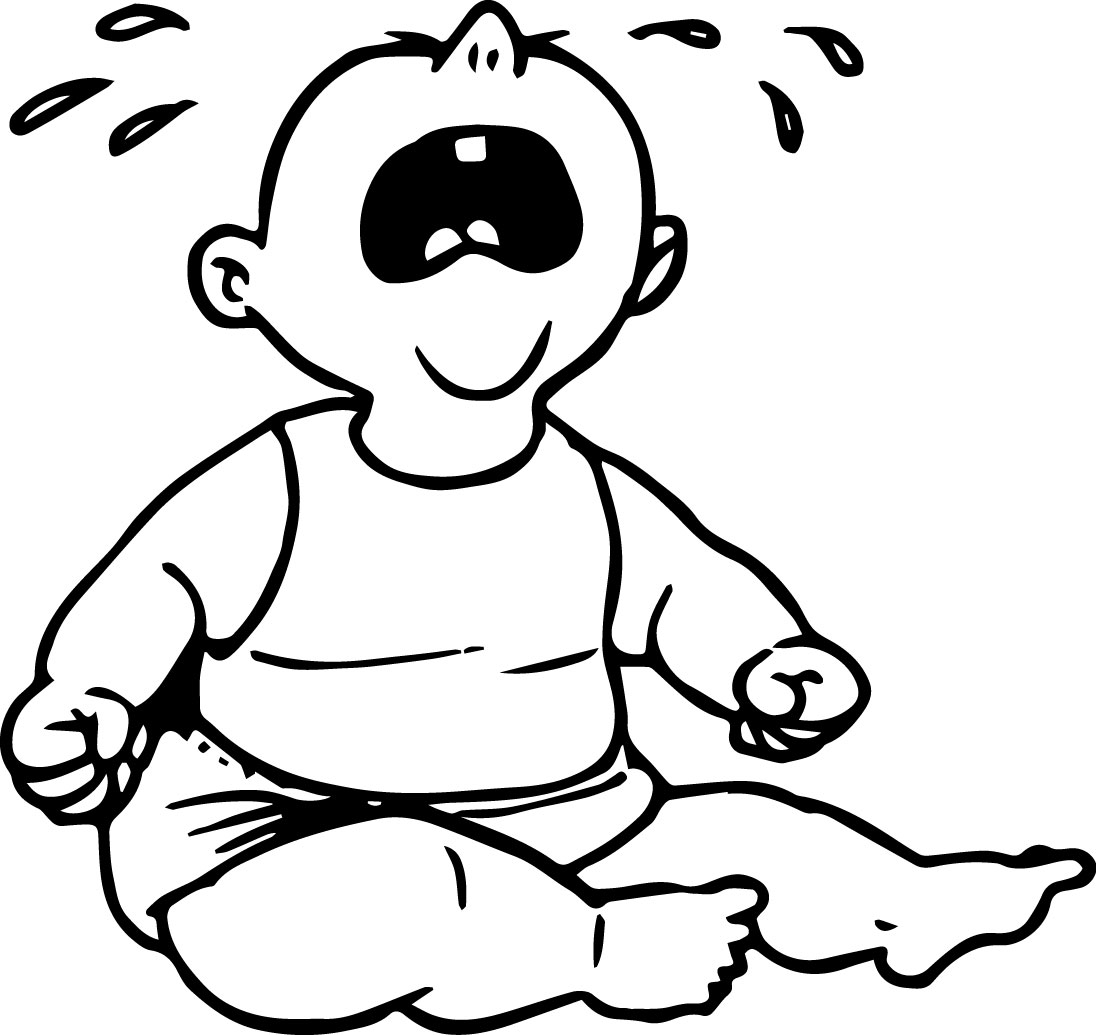 Cry Baby Bage Coloring Page