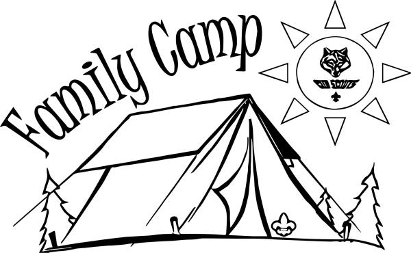 camping coloring page # 49