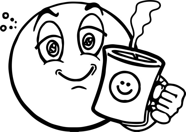 happy face coloring page # 54