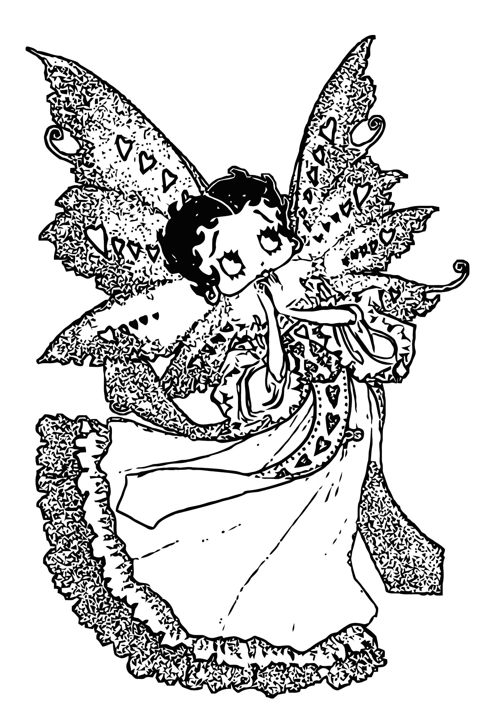 Betty Boop We Coloring Page 314