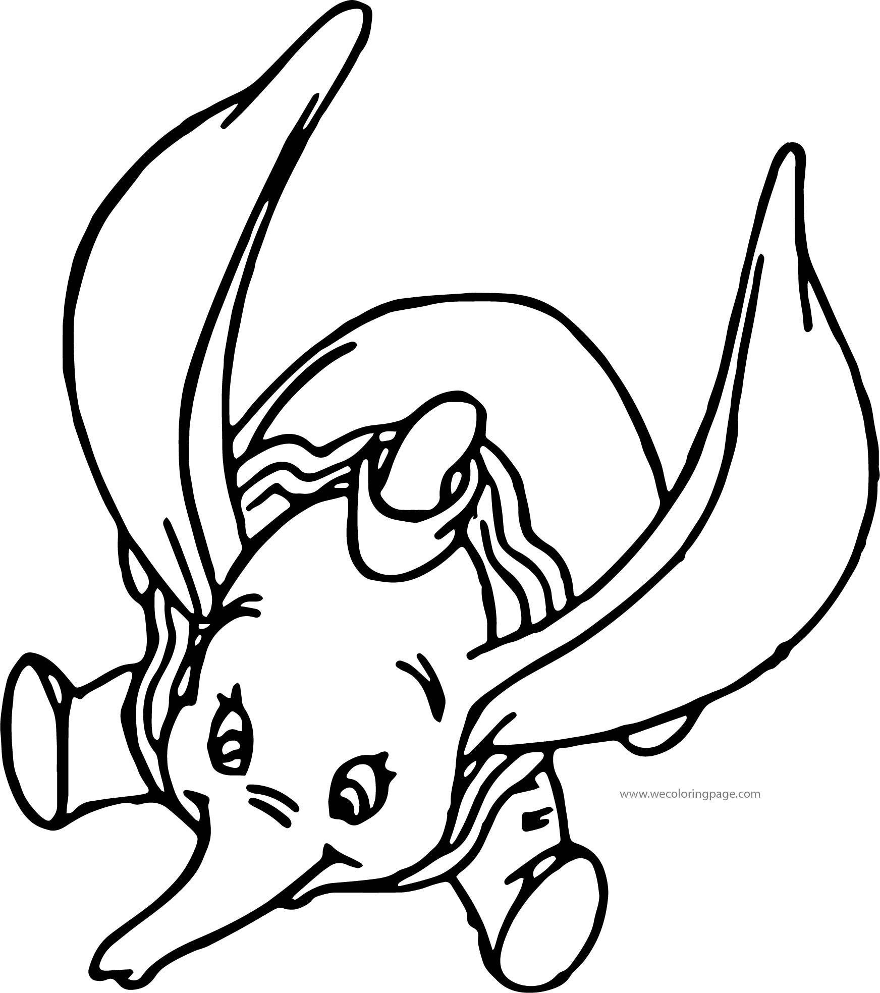 Dumbo Swoop Coloring Pages
