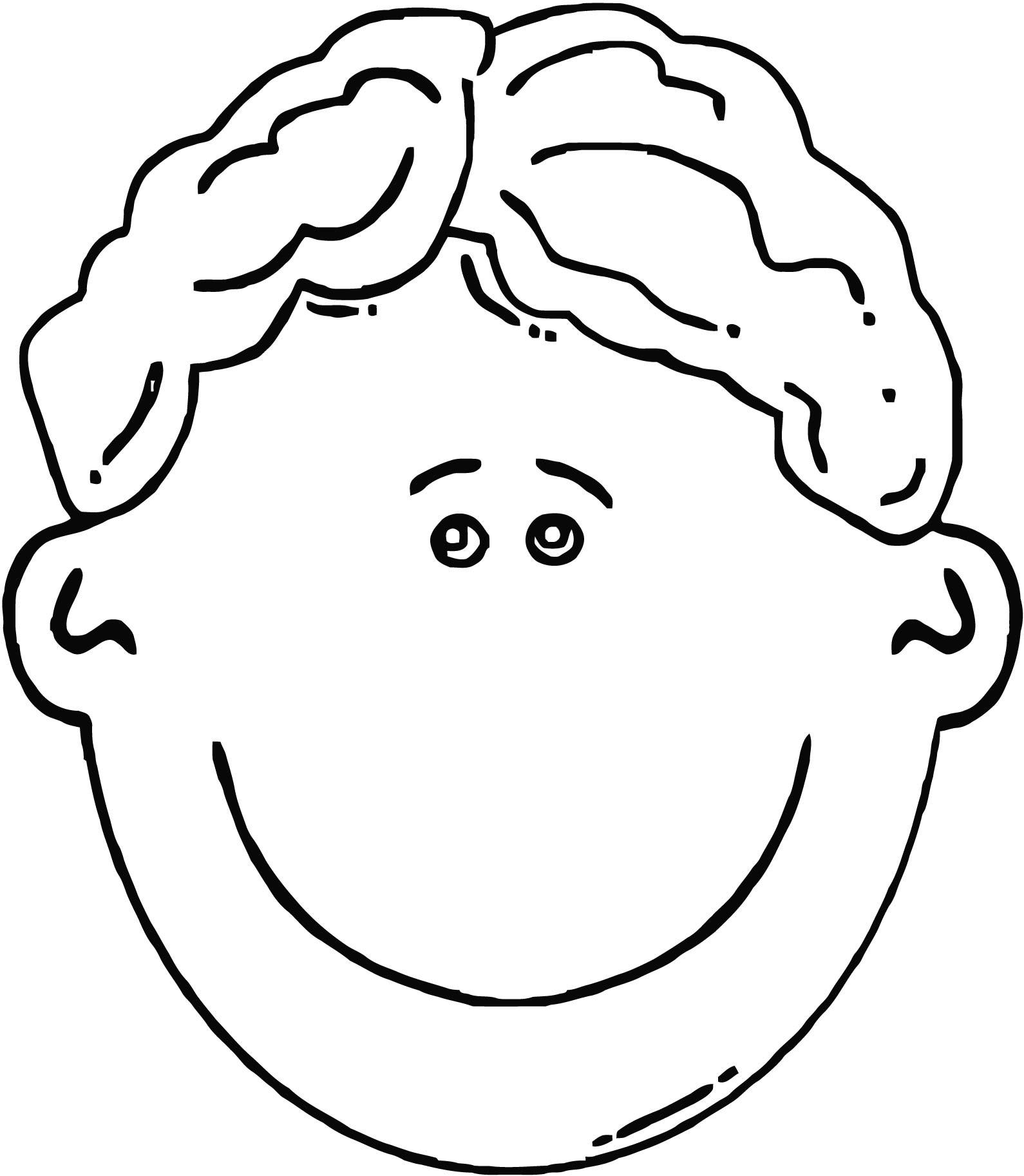 Glad Face Cartoon