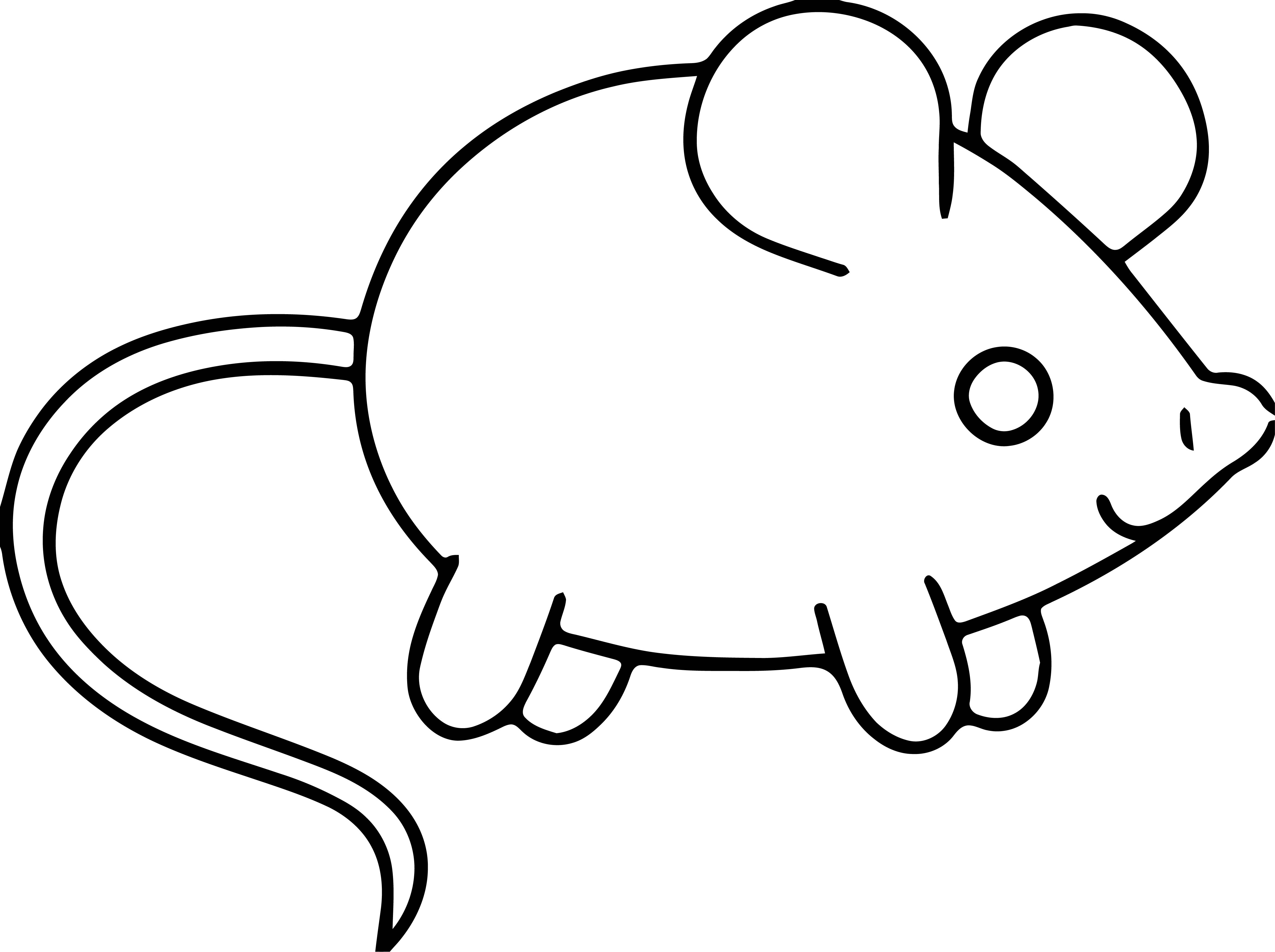 Mouse Coloring Page 55