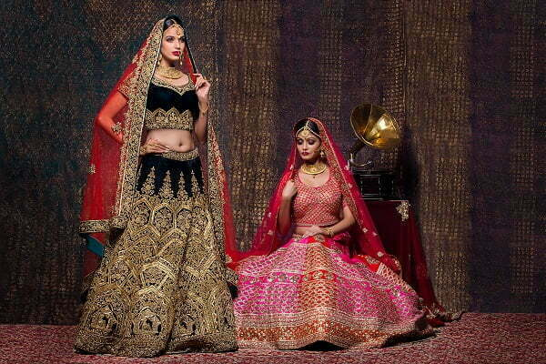 bridal lehenga stores in chandni chowk