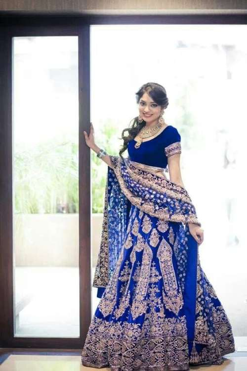 seasonal color guide for wedding lehenga
