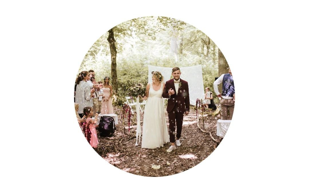 Ungezwungen, wild, magisch – Die Hochzeit von Johanna & Alex
