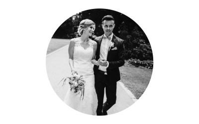 Die romantische Hochzeit von Eileen und Steffen mit einem Hauch an Klassik und Eleganz