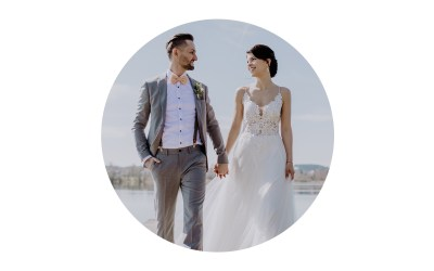 Die standesamtliche Hochzeit von Pia und Christian