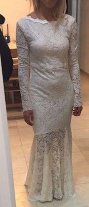 שמלה לטראש צנועה