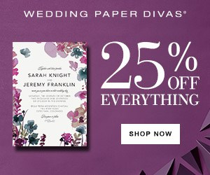 Wedding invitations from WeddingPaperDivas
