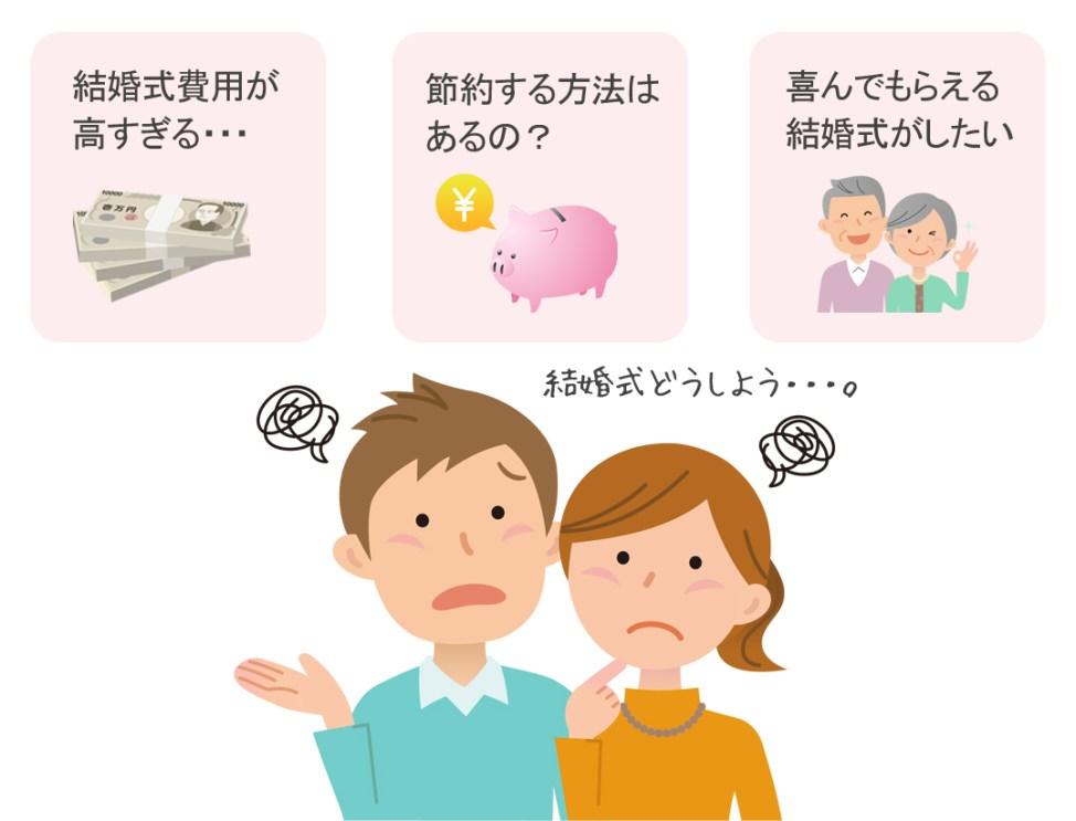 結婚式費用の節約方法