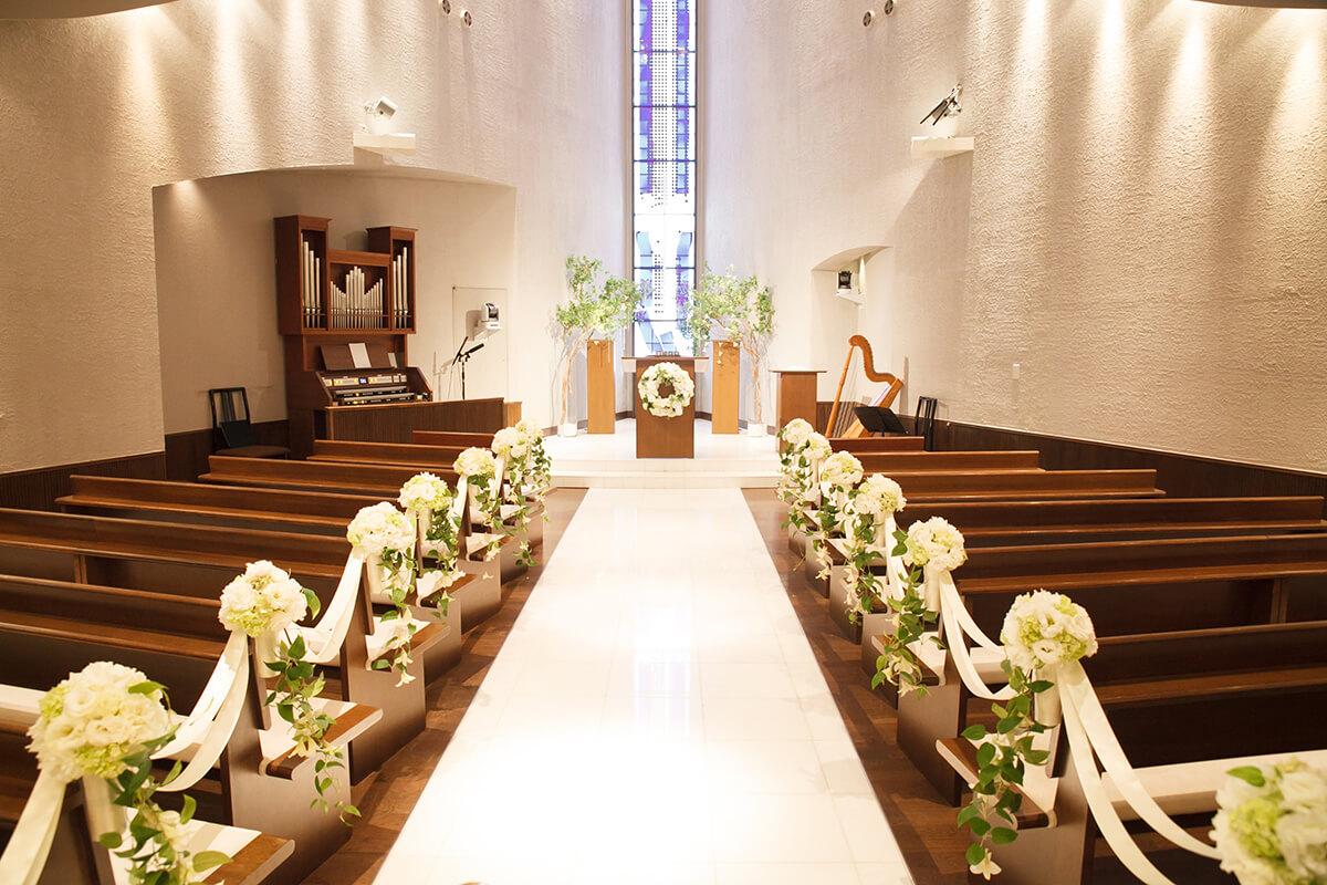 ANAクラウンプラザホテル神戸の教会