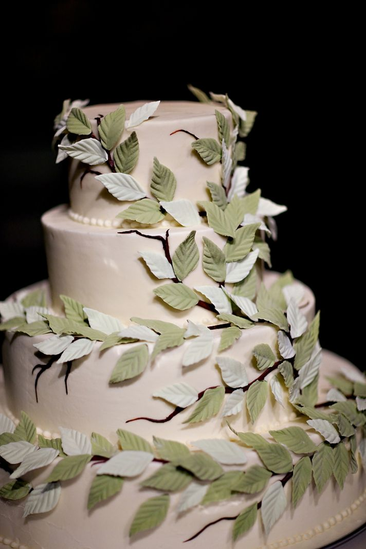 Elegant Black Ivory And Green Real Wedding