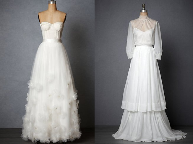 Mix And Match Bridal Separates By BHLDN
