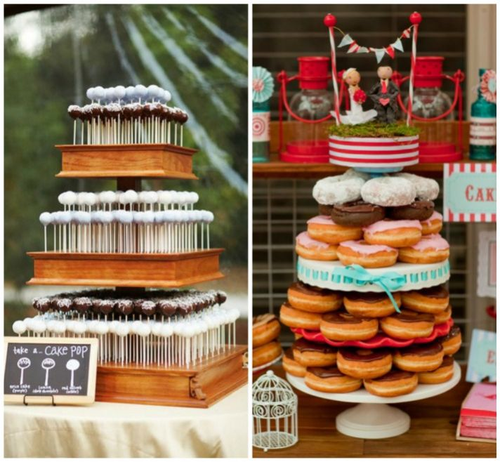 4 Fun  And Affordable  Wedding Cake Alternatives wedding cake alternatives
