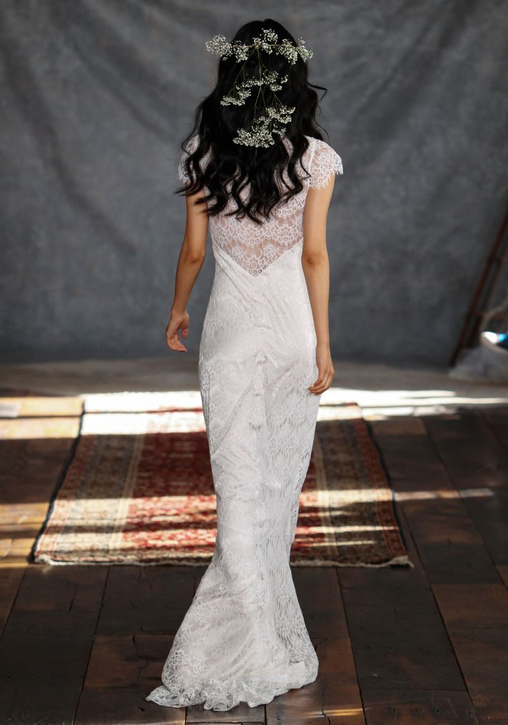 Estelle Wedding Dress Back from Claire Pettibone s Romantique Collection